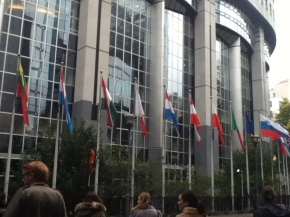 A trip to the European Parliament in Brussels.