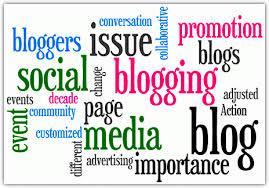 I write a blog – so does everybodyelse.