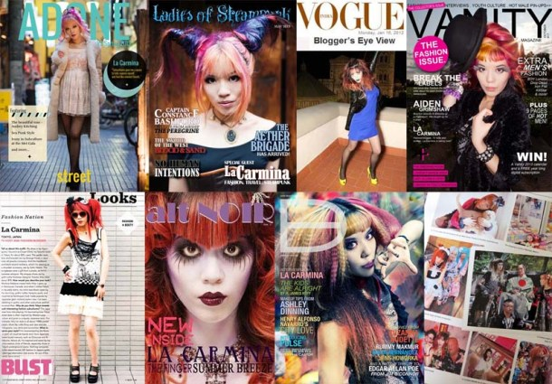 la_carmina_magazine_covers_fashion_blogger_press