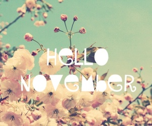 November, my birthday month!