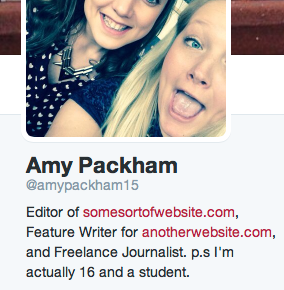 Twitter bios are becoming toofar-fetched.