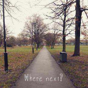 It's okay to not know where 'next' is